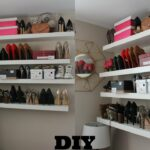 how diy super easy floating shelves for shoes and bags shelf shoe rack girlpower ikea mini large wall mounted coat adjustable closet storage media unit freestanding extra besta 150x150