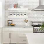 how incorporate floating shelves your kitchen room for tuesday white target wall mounted shelving small bathroom vanity ikea lack shelf sizes outdoor cabinets hung desk rockler 150x150