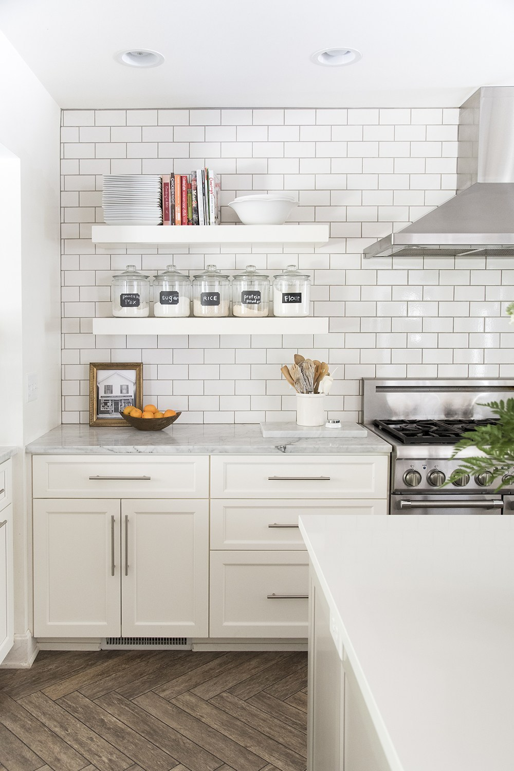 how incorporate floating shelves your kitchen room for tuesday white target wall mounted shelving small bathroom vanity ikea lack shelf sizes outdoor cabinets hung desk rockler
