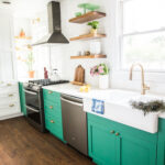 how make diy floating shelves live free creative green cabinets small kitchen reveal white the shelf depth one reasons chose own because most found maxed out around deep which 150x150