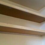 how make simple floating alcove shelves gosforth handyman floatingshelves shelf fixings rustic beam fireplace mantel white wooden kitchen metal brackets bar with storage prepac 150x150