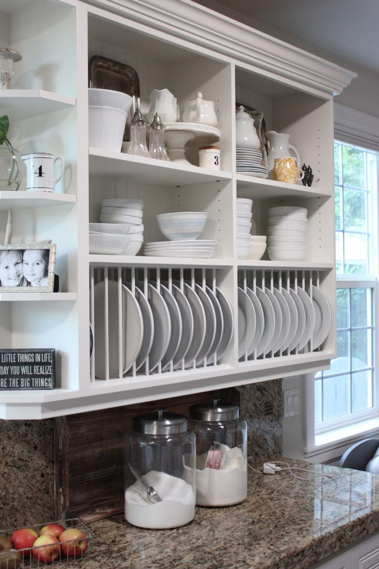 ideas using open kitchen wall shelves shelterness cabinets also great alternative standard upper that perfect become plate rack floating for dishes nailless ture hangers white