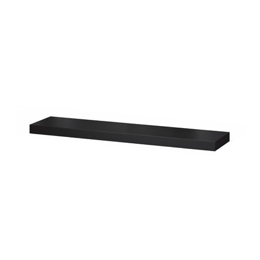 ikea lack floating wall shelf concealed mounting black stock tile vinyl flooring installation movable kitchen island with breakfast bar simple bookcase design built home office