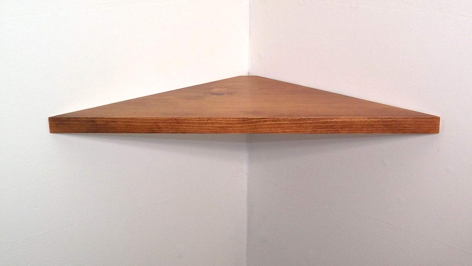 inch wide set solid wood floating corner wall shelf shelves with american walnut stain choose polyurethane finish handmade usa reclaimed fireplace surround bookshelf unit dish