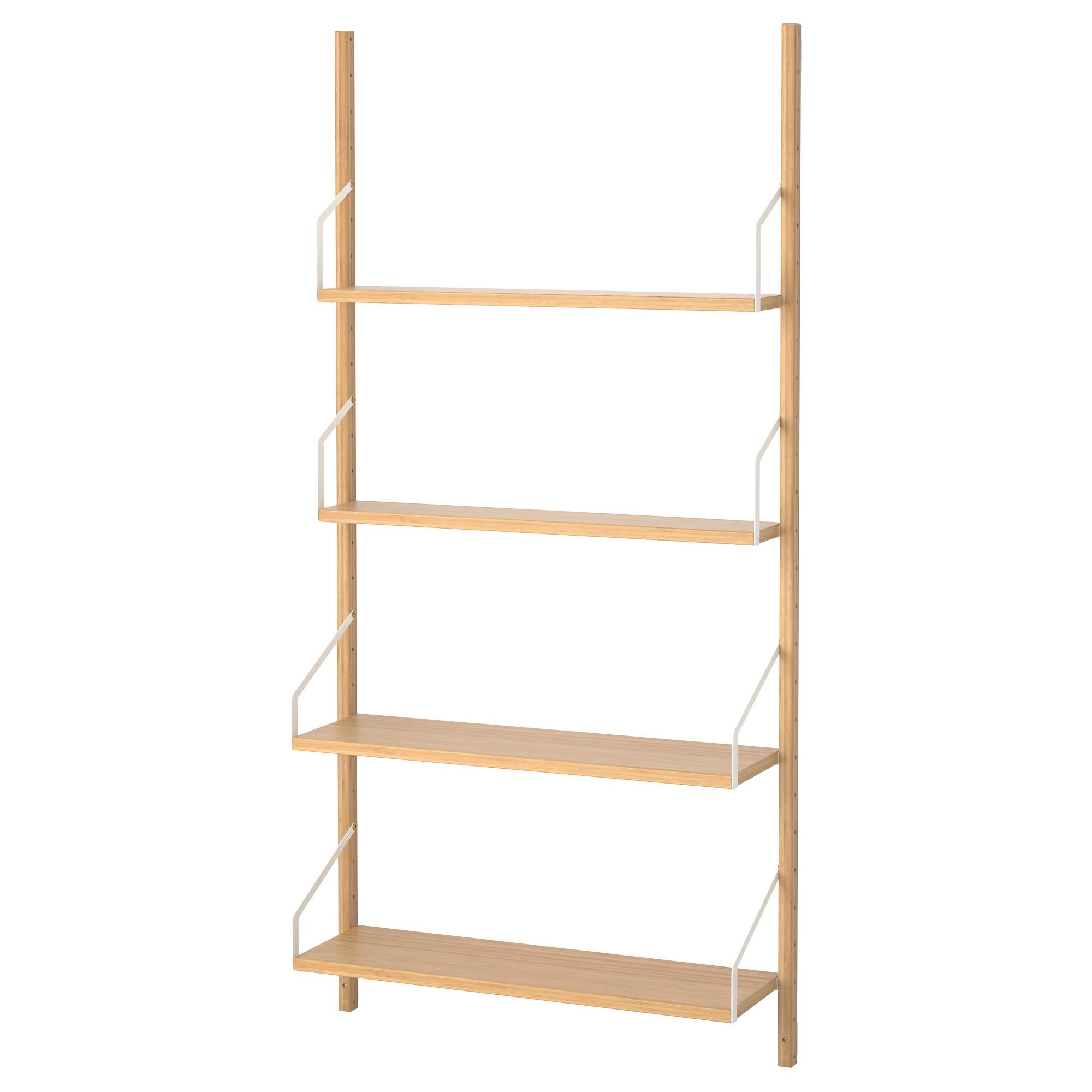 inch wide shelving unit shelves target wall mounted shelf combination bamboo ikea kallax bookcase ideas svalns wallmounted expedit instructions bookshelves floating cubes cube