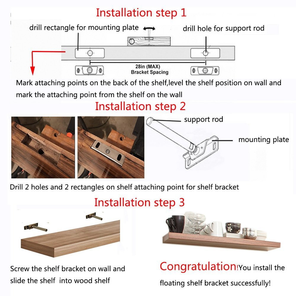 inches floating bracket concealed shelf brackets invisible wall support mounting furniture accessories from pottery barn bookshelf and hook mount hafele door hardware folding key