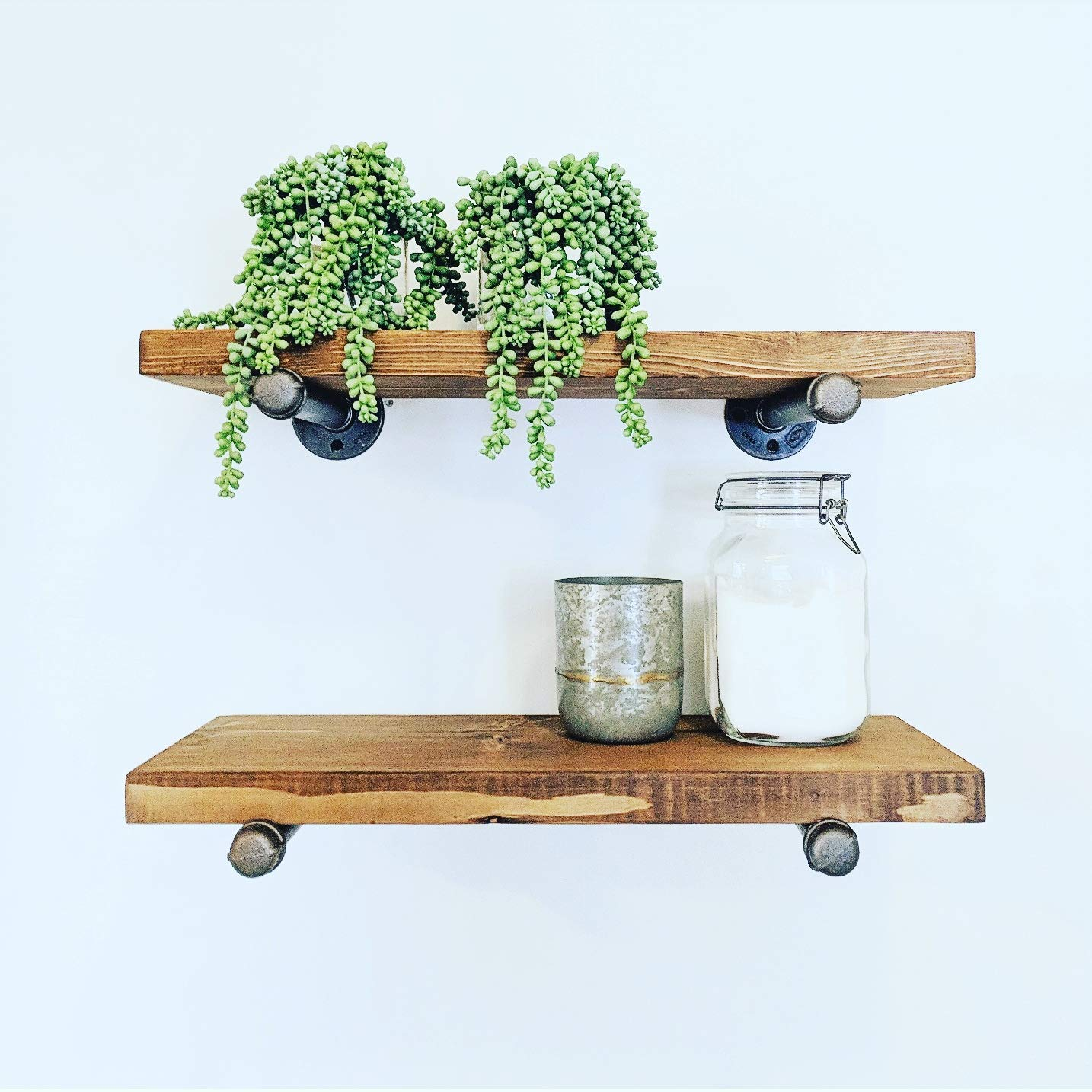 industrial floating shelves inches set inch deep shelf rustic canadian tire closet system high unit pine fireplace mantel prepac sonoma furniture kitchen brackets garage wall