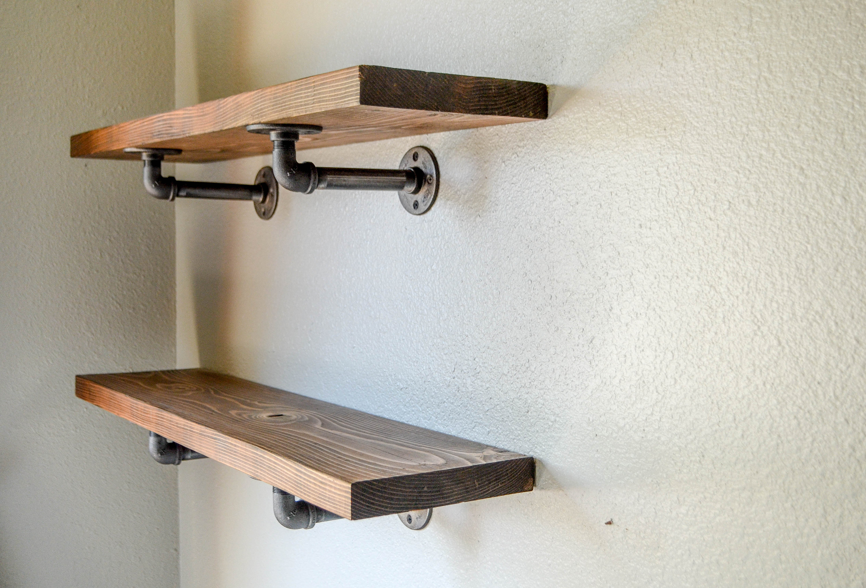 industrial pipe shelving shelf open farmhouse decor floating shelves kitchen dining fullxfull xmqt with pipes corner ladder kmart palmerston north hours white oak wall great