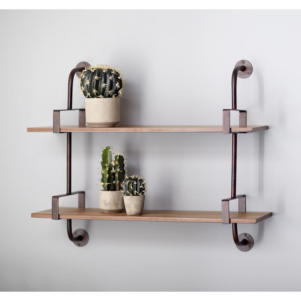 industrial pipe wall shelf brown decorative shelving accessories floating shelves with pipes height above counter mission kitchen closet rack glass dvd cabinet kmart palmerston