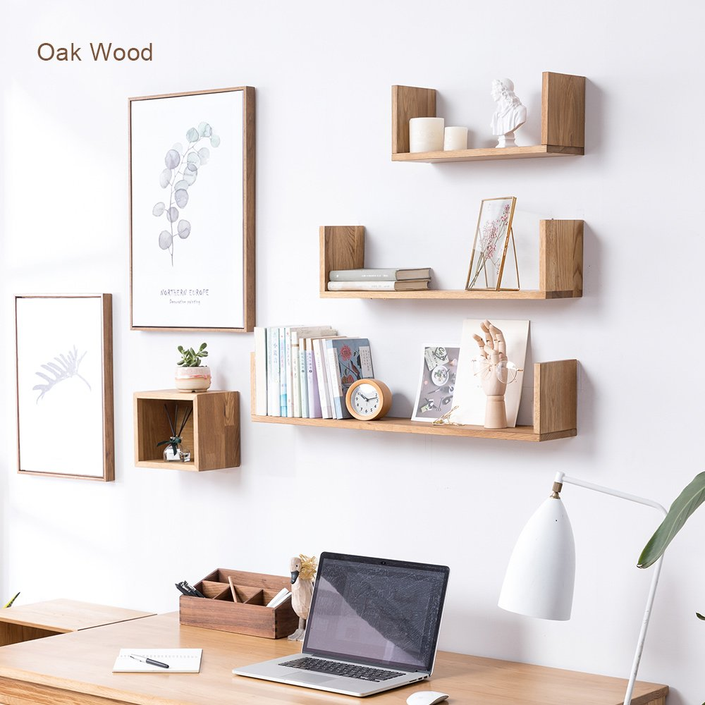 inman wooden floating shaped wall shelves bookshelves bookshelf ledge display mount small sink shelf simple for ture frames book media trophy oak medium mens shoe cabinet ikea