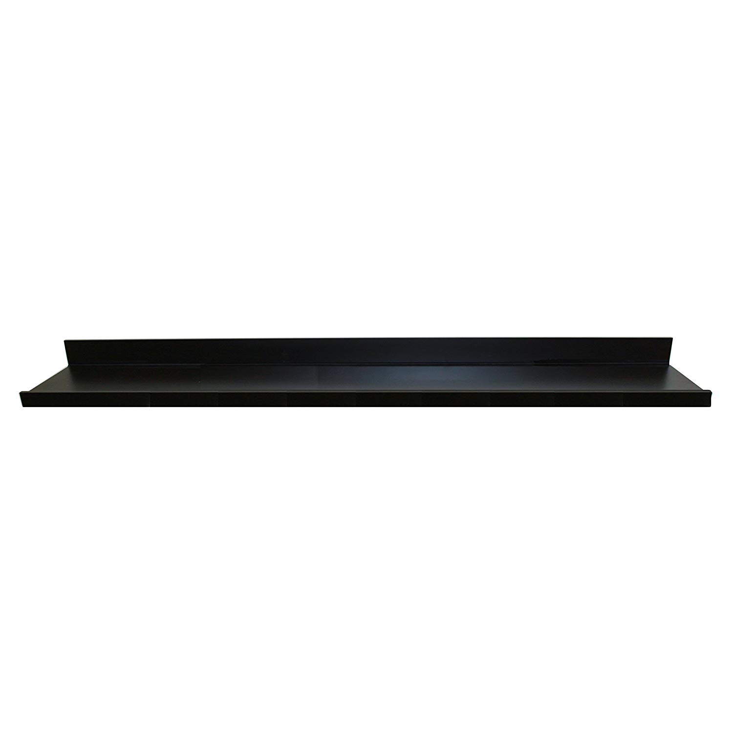 inplace shelving floating shelf with ture black lacquer ledge inch wide deep high home improvement ikea wall rack system mount without drilling corner cabinet shelves coat
