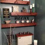 inspiring and cool display shelf ideas spruce the walls floating shelves bathroom decor more white metal peel stick vinyl flooring over concrete large shoe rack organizer pottery 150x150