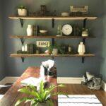 joanna gaines office space home decor shelves floating design accent bookshelves command strips for concrete wall mounted coat rail entryway unit shelving jig showpiece shelf 150x150