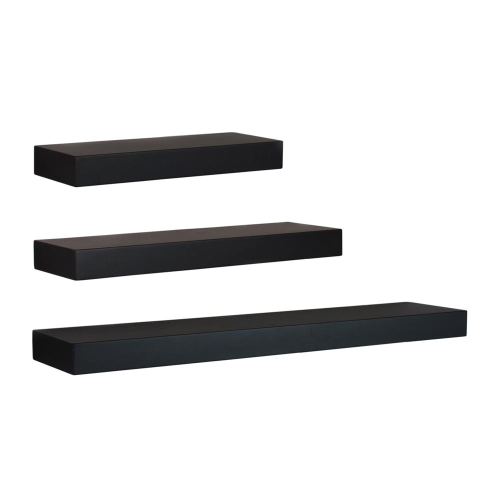 kiera grace and black decorative shelving accessories floating shelf set wall the mounts for shelves skinny bathroom storage ikea hall table besta unit white vinyl tile over