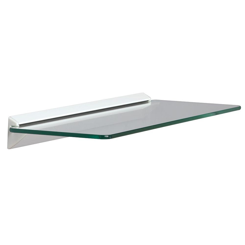 knape vogt wall mounted white glass decorative shelving accessories inch floating shelf kit roll out shelves desk frame kmart diy unit installing vinyl tile over heavy duty ikea