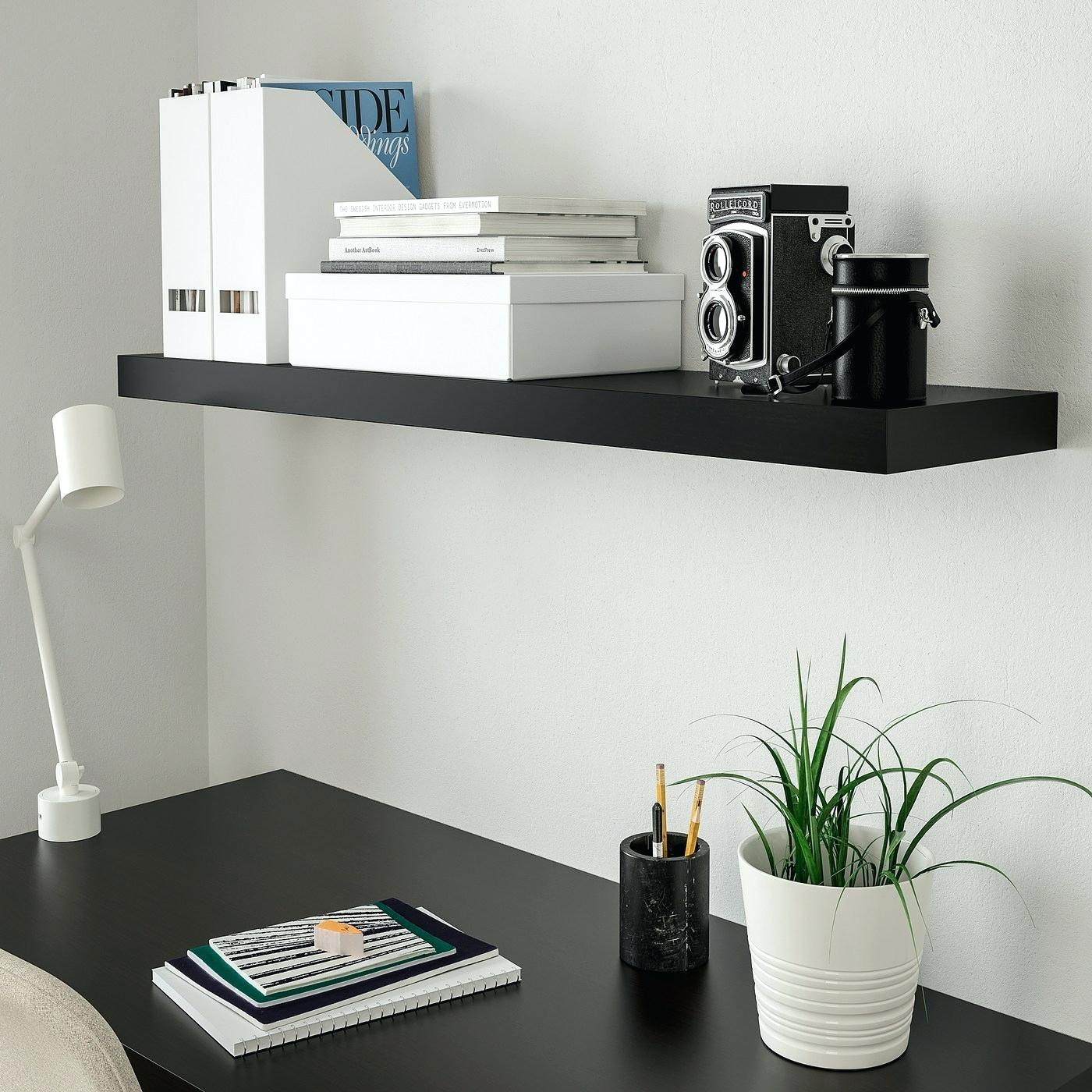 lack wall shelf black brown ikea floating shelves hanging wood contemporary desk elc car garage for xbox small media console kitchen holders homemade bathroom mounted coat hanger
