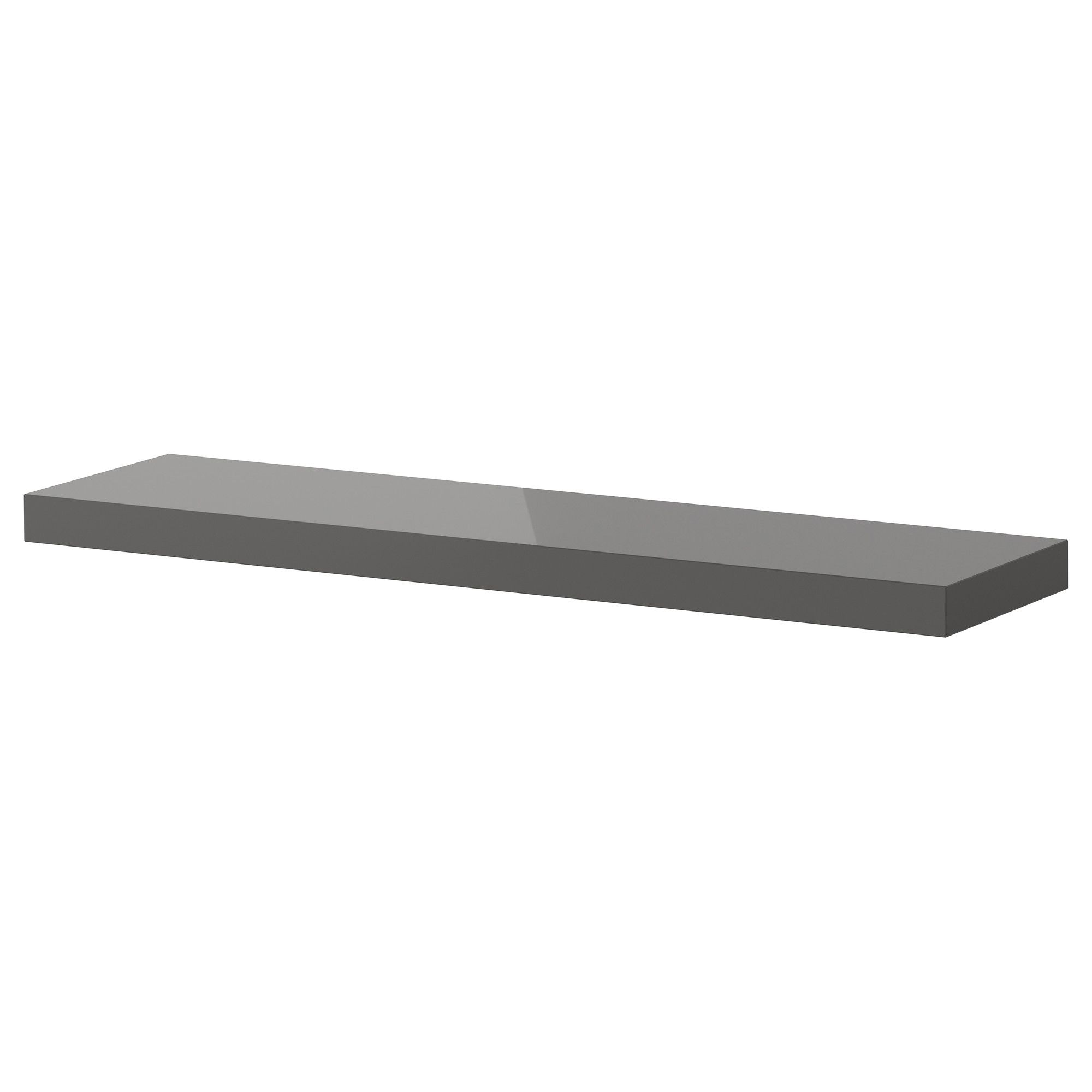 lack wall shelf high gloss gray ikea home black floating side supports small space bathroom storage garage systems bedroom ledge airing cupboard baskets shower scraper drill brush