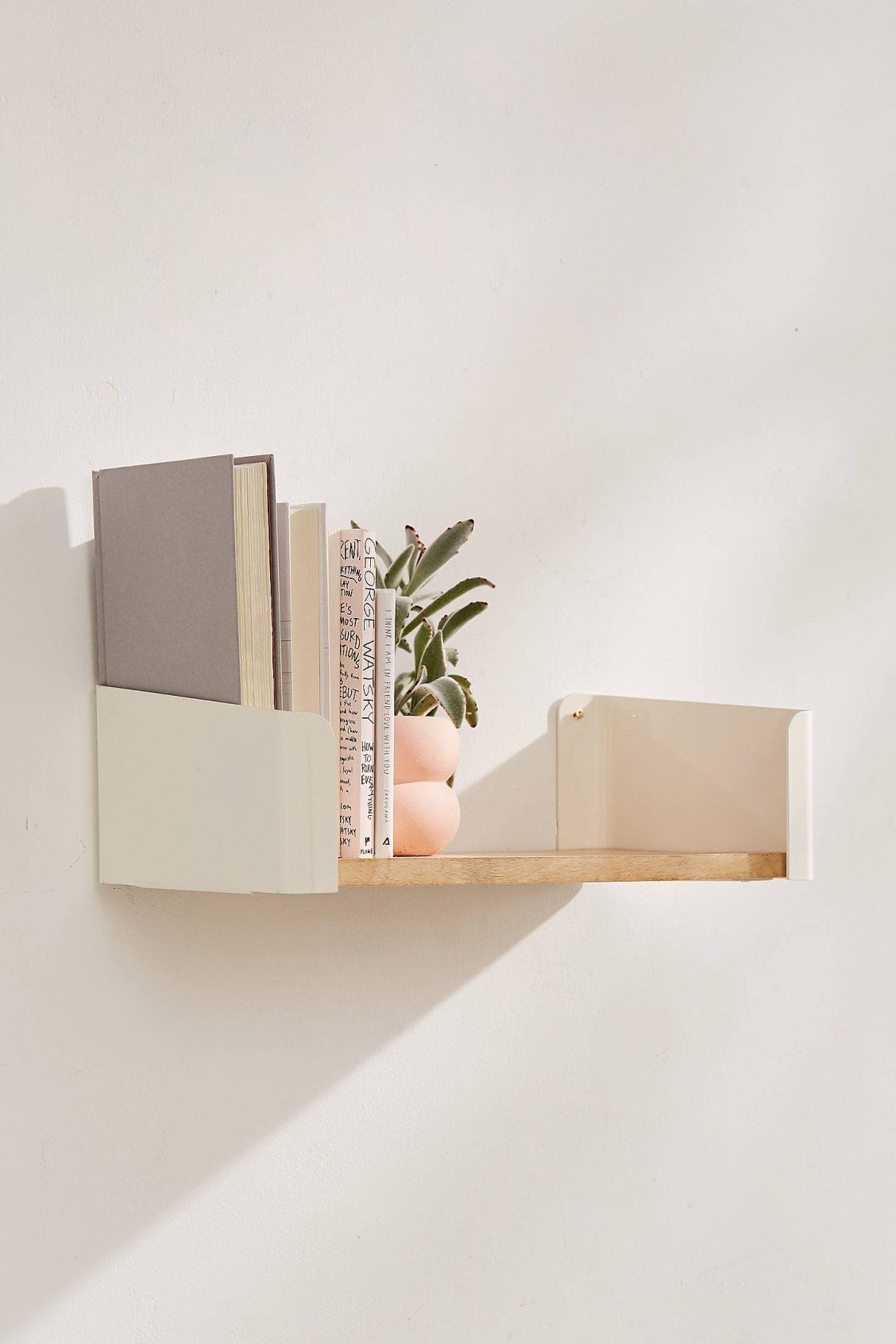 lara bookend wall shelf get organized shelves floating bookends urban outfitters can you lay vinyl tile over cleat mount lcd with timber shelving ideas cube shaped expedit unit