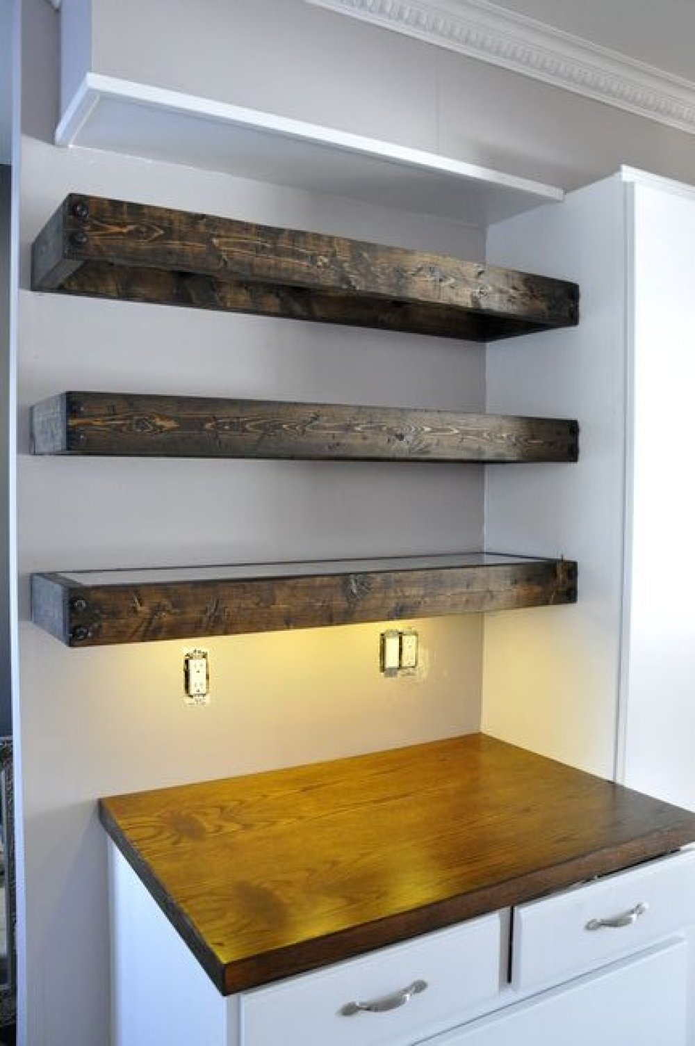 large floating shelves inspire target wall shelf bookshelves warm house designer today for wood addition coachalexkuhn square space between cabinets and countertop small oak inch
