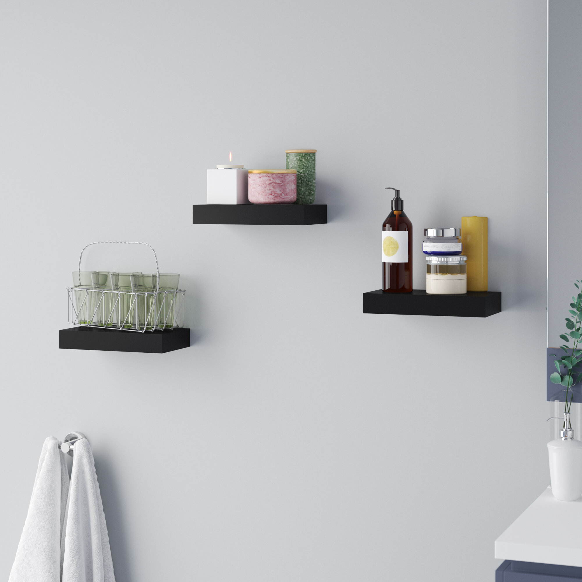 latitude run hitchens tile floating shelf reviews melannco shelves grey ematic set top box homemade kitchen glass corner unit mantel floor shoe holder shelving organizer rack