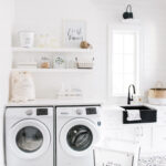 laundry room mud monika hibbs img floating shelves mudroom fresh linens best bookshelf design dust off canadian tire closet hanging dimensions solid wood white tempered glass 150x150