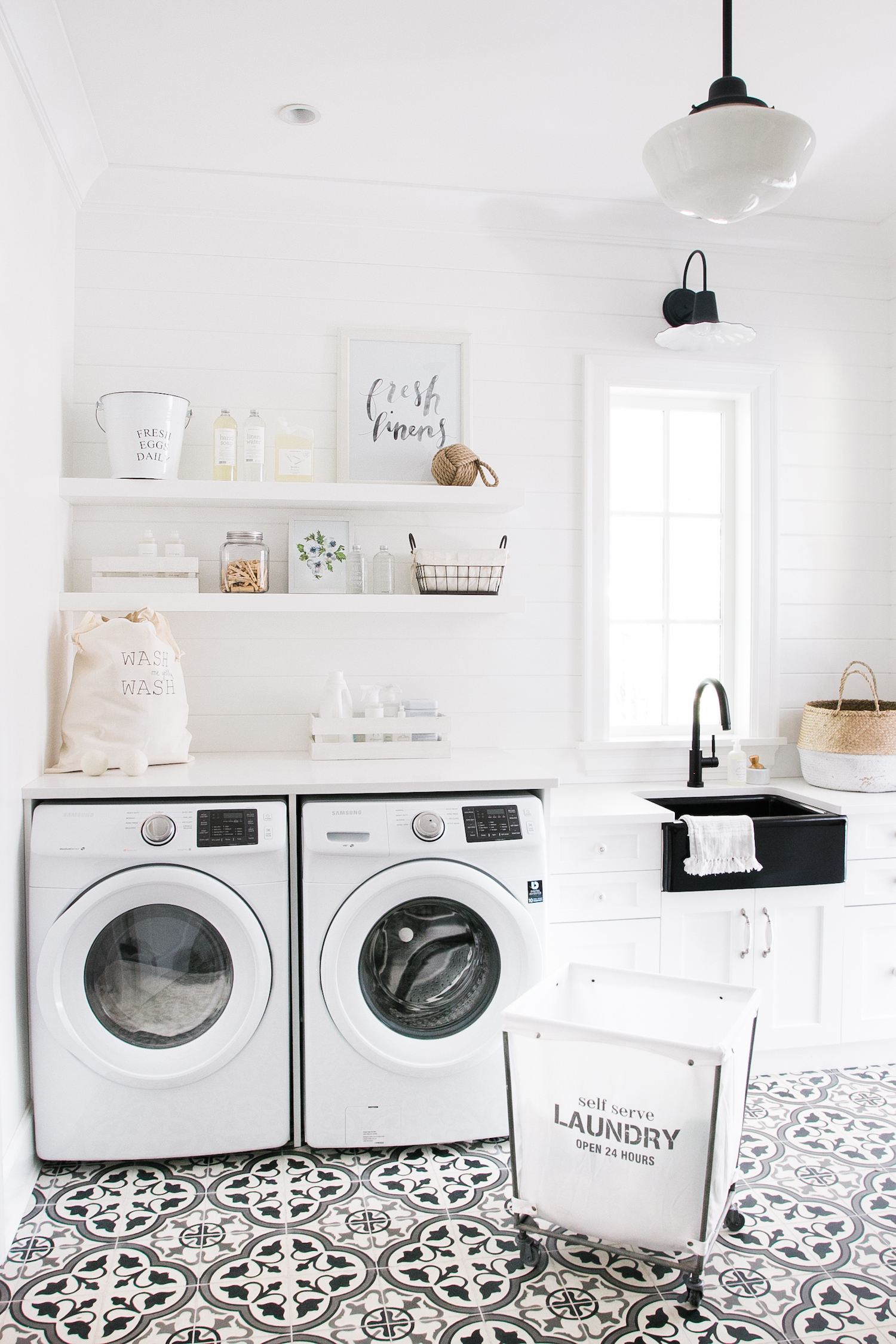 laundry room mud monika hibbs img floating shelves mudroom fresh linens best bookshelf design dust off canadian tire closet hanging dimensions solid wood white tempered glass