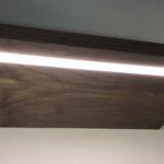led lighting options for custom floating shelves img black shelf with lights recessed strip light pink portable kitchen island sink closet systems built vonhaus media player 150x150