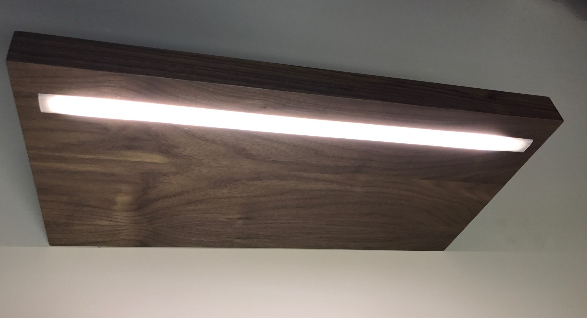 led lighting options for custom floating shelves img black shelf with lights recessed strip light pink portable kitchen island sink closet systems built vonhaus media player