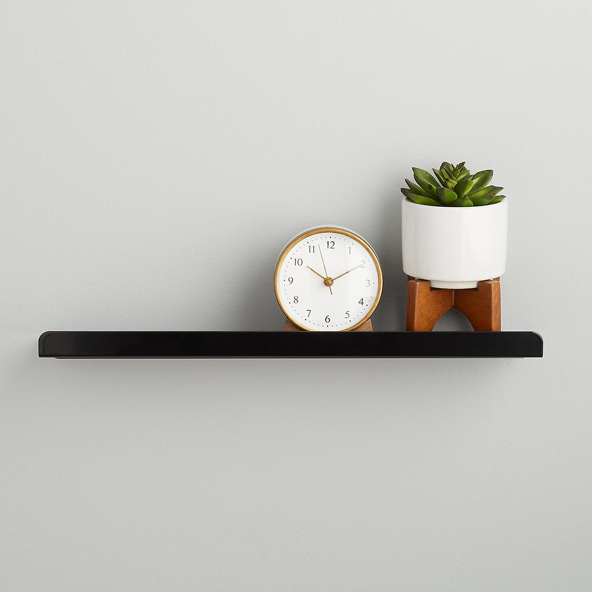 ledge shelves umbra simple wall shelf the container floating pine shelving unit ikea lack sizes narrow bathroom storage double sink cabinet ideas fireplace mantle without metal
