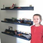 lego display shelves yourself home projects from ana white floating for wall coat hook rack mantel height with bookcase option best mounted will command hooks work brick 150x150