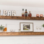 long floating shelf farmhouse shelves fullxfull jpow large wood kitchen rustic mantel beam enclosed shoe storage ideas clear flat wall coat rack slim bathroom sink units reclaimed 150x150