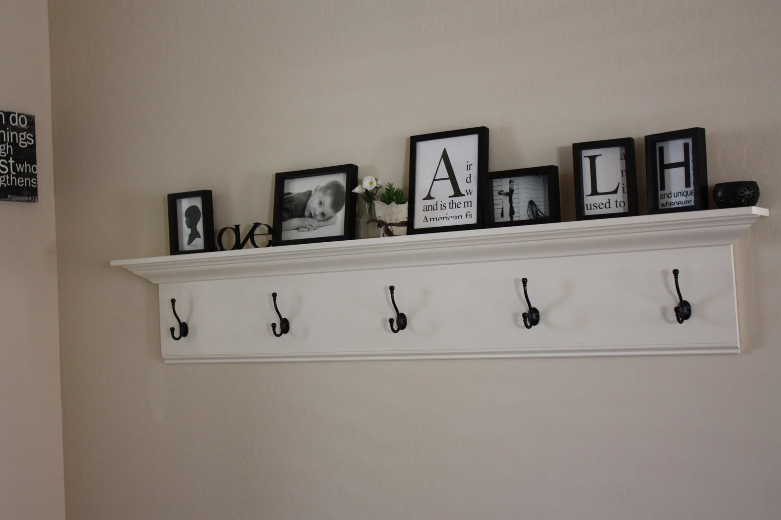 long wall shelf kids with hooks view decorating white floating black iron enchanting flat screen swivel mount decorative liner jacket hanger rack affordable fireplace mantels wood