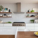 los palmos svk interior design home improvement floating shelf height kitchen the heath ceramics wall tile backsplash was extended full and behind shelves white gold duster toilet 150x150