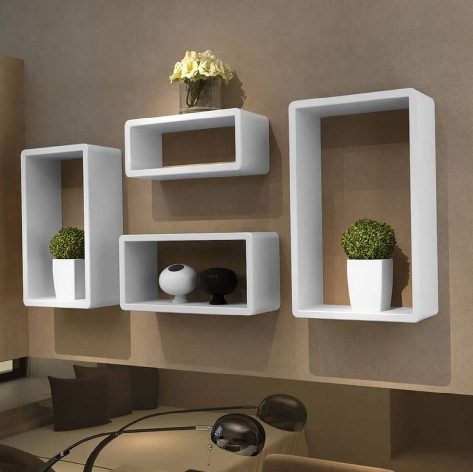 magnificent wall shelf ideas for living room modern floating shelves white box design mounted garage storage target bathroom ladder compact computer desk with drawers glass