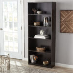 mainstays shelf standard bookcase multiple finishes houzz floating shelves living room applying peel and stick tile rona shelving ikea computer table wall mounted coat rack with 150x150