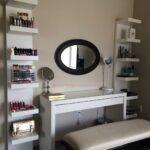 makeup storage and organization ikea lack shelf unit malm floating shelves dressing table slim shoe cabinet hanging bathroom granite breakfast bar support metal brackets canadian 150x150