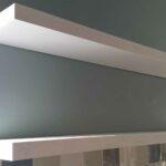 making white gloss floating shelves gosforth handyman whiteglossfloatingshelves grey xbox wall shelf small bathroom sink open closet organizer diy drawer elastilon underlay 150x150