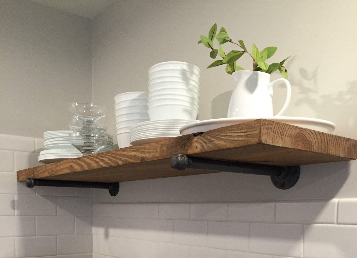 many sizes rustic industrial floating shelves without pipe etsy fullxfull skfd shelf concealed mounting office table with computer ceiling hanging brackets kitchen standing coat