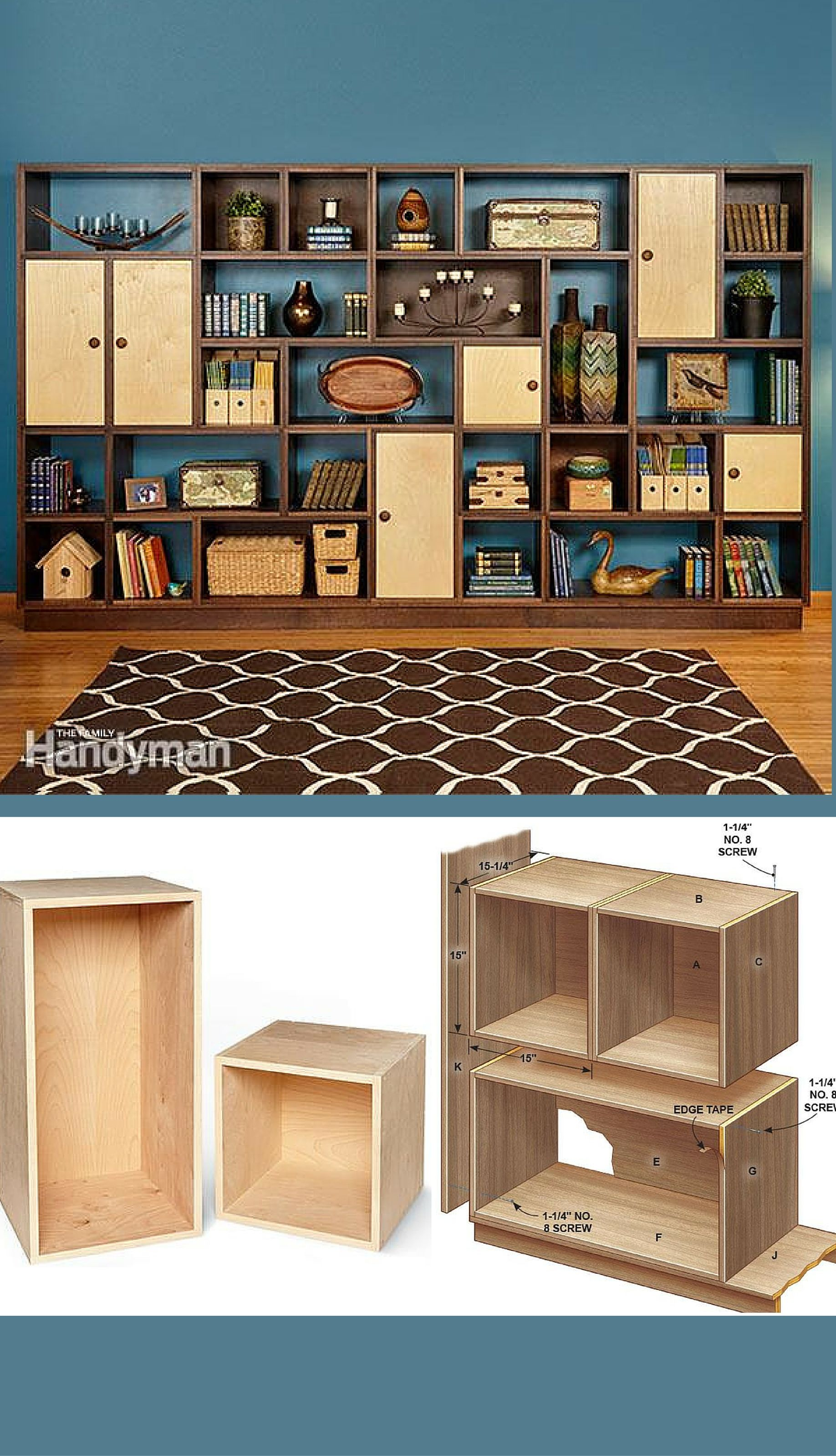 modular masterpiece build fully customizable bookshelf modula joinery floating shelves few the most remarkable woodworking projects wood furnishings basic concepts can discovered