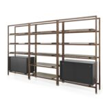 modular shelf contemporary solid wood walnut float modula joinery floating shelves aurelien barbry studio clear corner vertical dividers wall mounted desks for small spaces 150x150