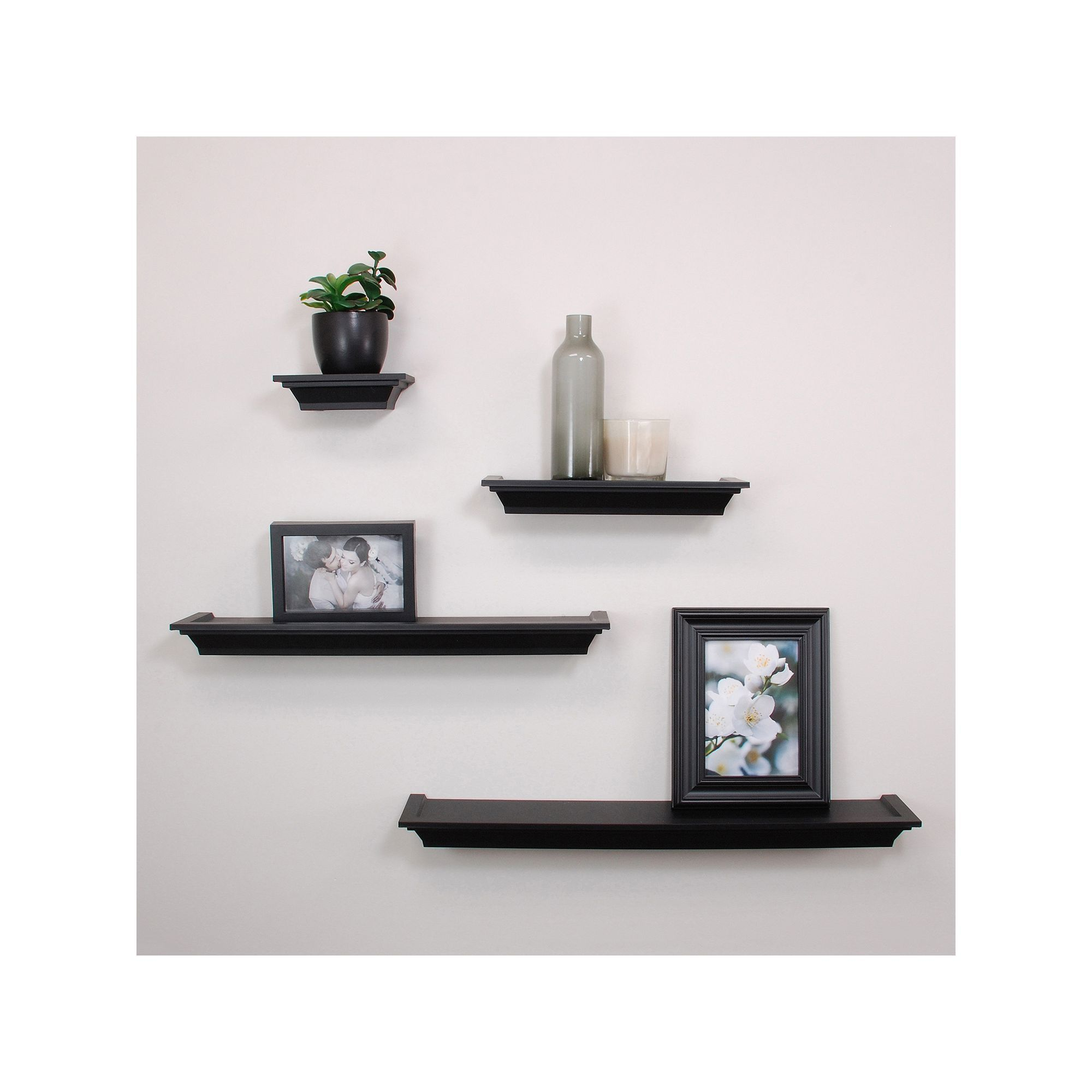 nexxt classic piece wall shelf set products floating black ikea besta unit white reclaimed wood kitchen rolling vinyl tile cutting underlay ideas for shelves bedroom box storage