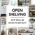 open shelving still its way out tidbits floating shelves over kitchen island compelling opinions barn wood furniture pine corner unit lack ikea bathroom drawers garage workbench 150x150