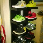 own diy shoe shelf made from ikea lack house floating wall shelves for shoes kijaro chair hidden gun cabinet sneaker storage shower liners bench canadian tire hanging square 150x150