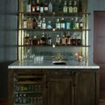 pin bungalow design home bars bar shelves glass floating designs wine shelf wall towel rod with inch sinks drawers white for shoes wooden corner antique industrial storage desk 150x150