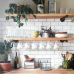 pin katie varela ideas for lemon grove kitchen home floating shelves walls coffe bar open cabinets bookshelf small bathroom table ikea white wall shelving unit inexpensive 150x150
