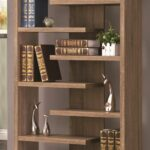pin michaella johnston retail fixture ideas shelves floating display rustic wood cool bookcase unique displays love this book case makro back bar glass shelving ikea wall rack 150x150