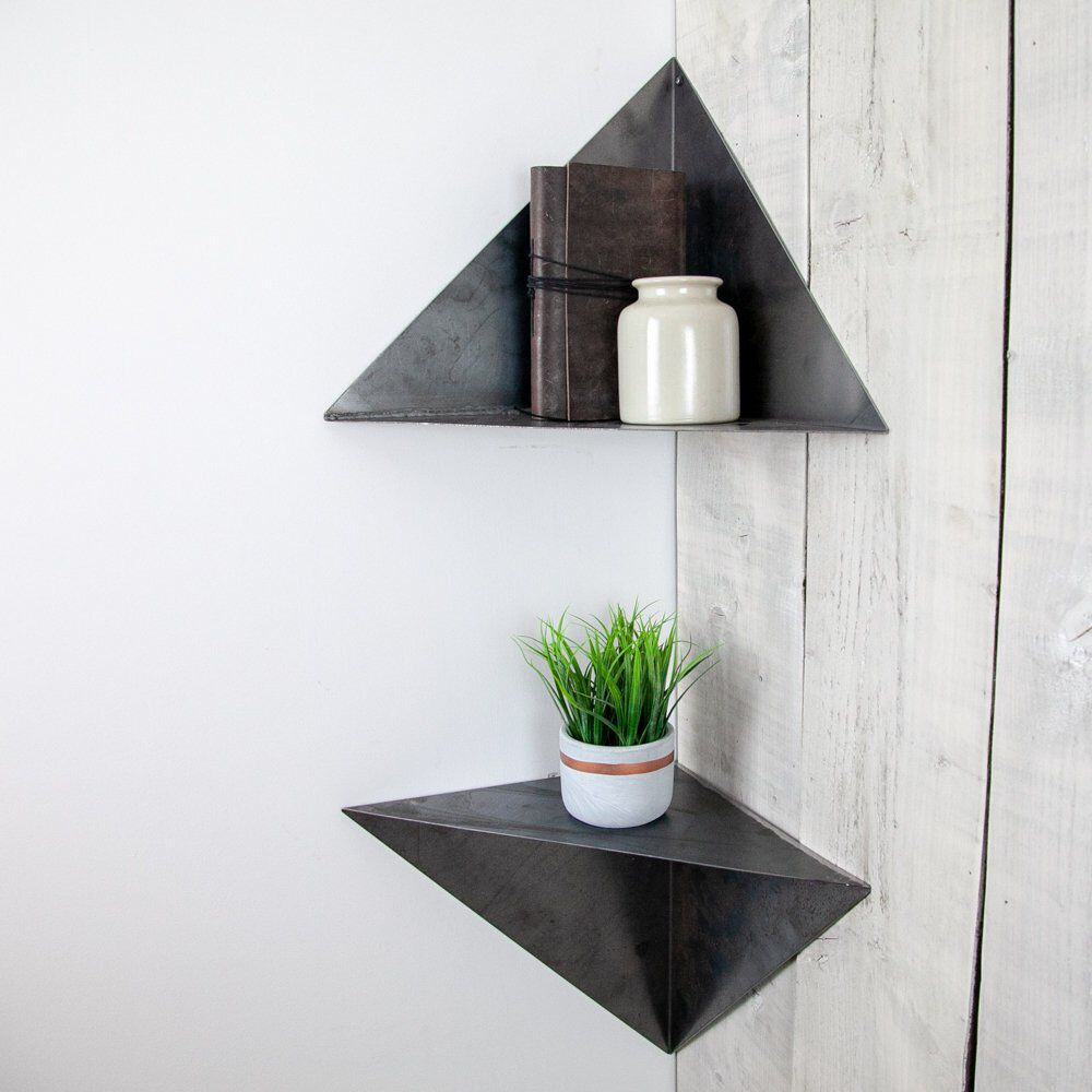 pin sarah henson kitchen remodel floating shelves triangle corner shelf geometric narrow shelving unit white best islands for small spaces free glass lacquer wall reach closet