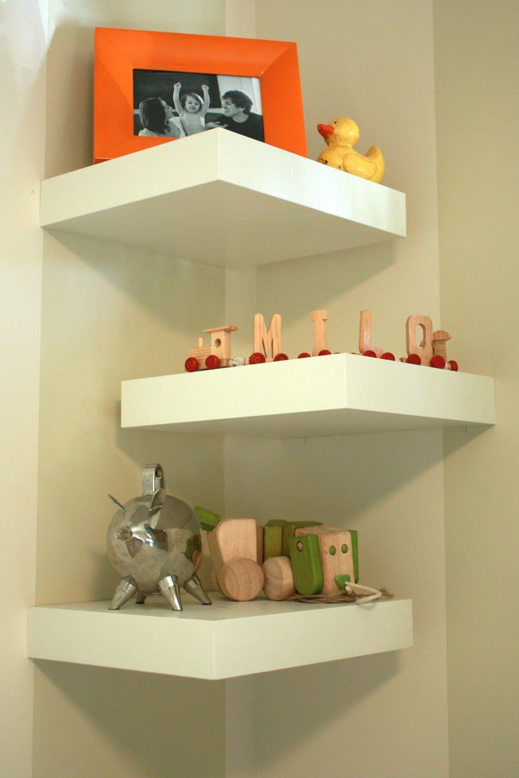 pin traci bedroom inspiration corner wall shelves diy small white floating shelf amazing design ideas even when you did figure out how earn the back edge would want get trimmed