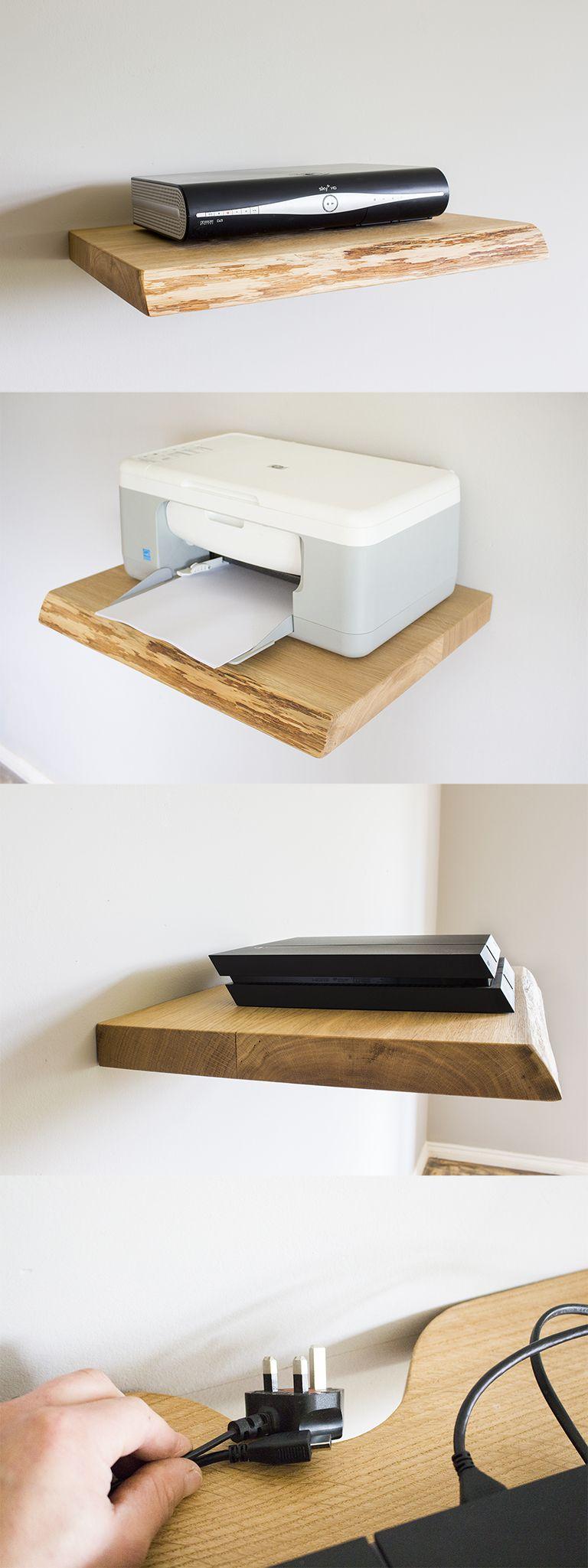 pin von mark joyce auf woodworking solid wood floating shelves extra deep shelf ideen furs zimmer wohnen regal mit schublade holzerne schweberegale regale plastic garage racking