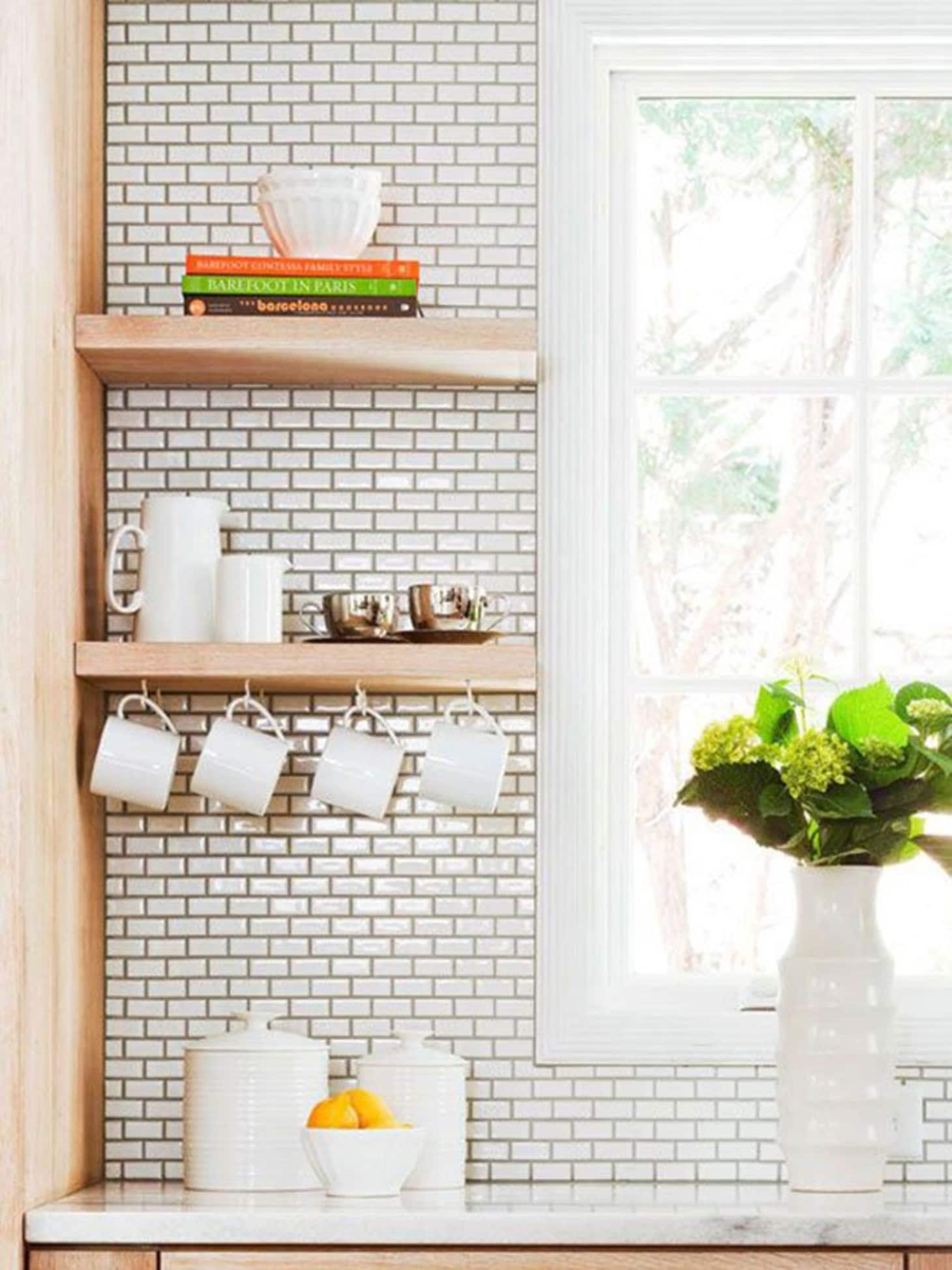 places put floating shelf the kitchen kitchn shelves for storage espresso wall float design ideas mudroom hall tree bench media cabinet wrought iron brackets hardware white